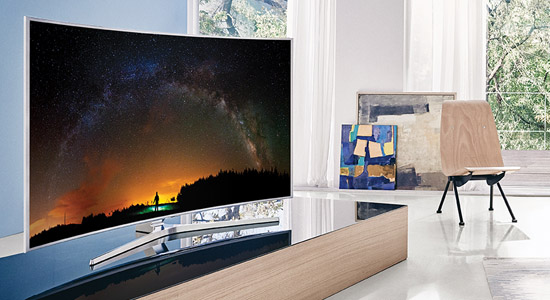 samsung js9000 curved 4k suhd tv review. Black Bedroom Furniture Sets. Home Design Ideas